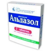 Альдазол 400 мг №3 таблетки