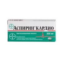 Аспирин Кардио 300 мг №28 таблетки