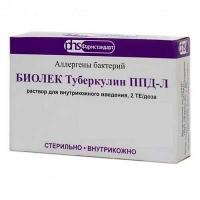 Биолек Туберкулин ППД-Л  2ТЕ/доза 0.6 мл №1 раствор для инъекций