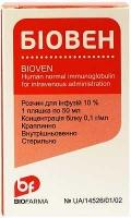 Биовен 10% 50 мл раствор для инфузий