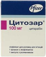 Цитозар 100 мг лиофилизат