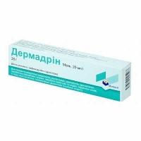 Дермадрин 20 мг/г 20 г мазь