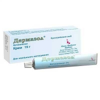 Дермазол 2% 15 г крем