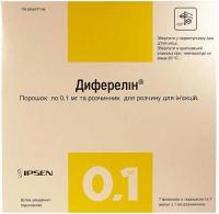 Диферелин 0.1 мг/1 мл N7 порошок