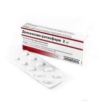 Доксазозин-Ратиофарм 2 мг N20 таблетки