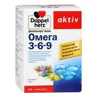 Доппельгерц Актив Омега-3-6-9 N60 капсулы