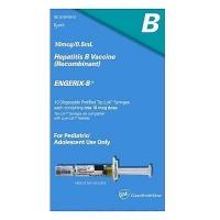 Энджерикс-B для детей 0.5 мл 10 мкг №10 вакцина против гепатита В