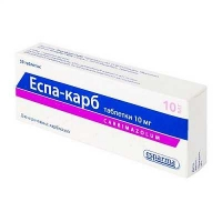 Эспа-карб 10 мг N50 таблетки