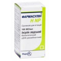 Фармасулин H NP 100 МЕ/мл 5 мл