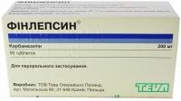 Финлепсин 200 мг №50 таблетки