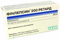 Финлепсин ретард 200 мг №50 таблетки