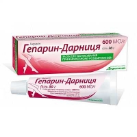 Гепарин-Дарница 600 ЕД 30 г гель