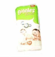Giggles Premium Maxi 7-18 кг N36 подгузники