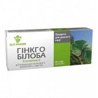 Гинкго Билоба с витамином C 0.25 г №40 таблетки