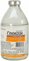 Глюкоза 5% 200 мл раствор для инфузий