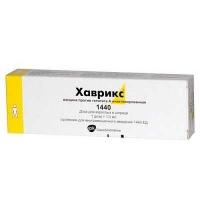 Хаврикс 1440 1 доза 1 мл N1 вакцина гепатит А