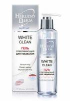 Hirudo Derm, WHITE CLEAN отбеливающий гель для умывания из серии White Line, 180 мл