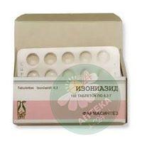 Изониазид  0.3г №100 таблетки