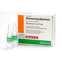 Изониазид-Дарница 10% 5 мл №10 раствор для инъекций