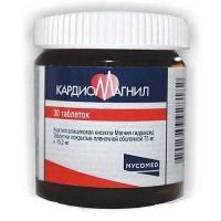 Кардиомагнил 75 мг N30 таблетки