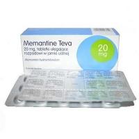 Мемантин Тева 20 мг N30 таблетки