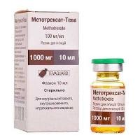Метотрексат-ТЕВА 100 мг/мл 10 мл раствор