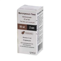Метотрексат-ТЕВА 25 мг/мл 2мл раствор для инъекций