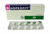 Норколут 5 мг №20 таблетки