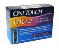 One Touch Ultra N50 тест-полоски для определения уровня глюкозы
