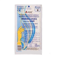 Перчатки хирургические стерильные размер 6 RiverGloves