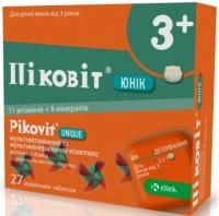 Пиковит Юник №27 таблетки