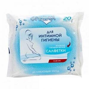 Салфетки влажные Фрешка N20 для интимной гигиены