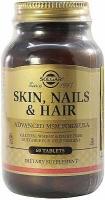 Солгар Витамины для кожи, волос и ногтей N60 таблетки