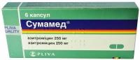 Сумамед 250 мг №6 капсулы