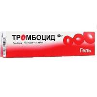 Тромбоцид 40 г гель