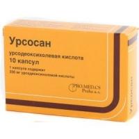 Урсосан 250 мг №10 капсулы